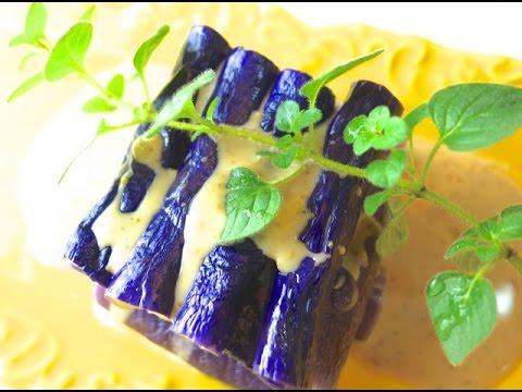 影音示範如何保持茄子夢幻的紫色  實驗篇