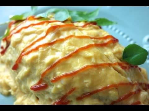 影音教學示範 媽媽的特製蛋包飯 蛋包飯