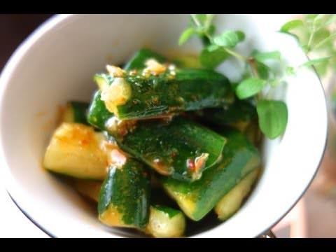 韓式涼拌小黃瓜 冷盤 韓式辣味