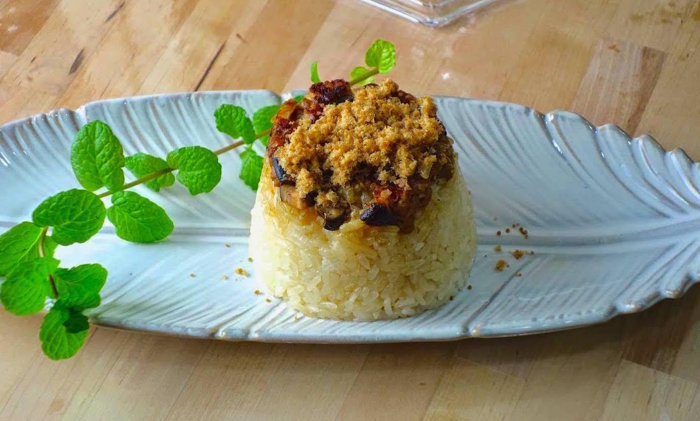 「筒仔米糕怎麼做才對味?」用電鍋做台南經典小吃,簡單又好上手!