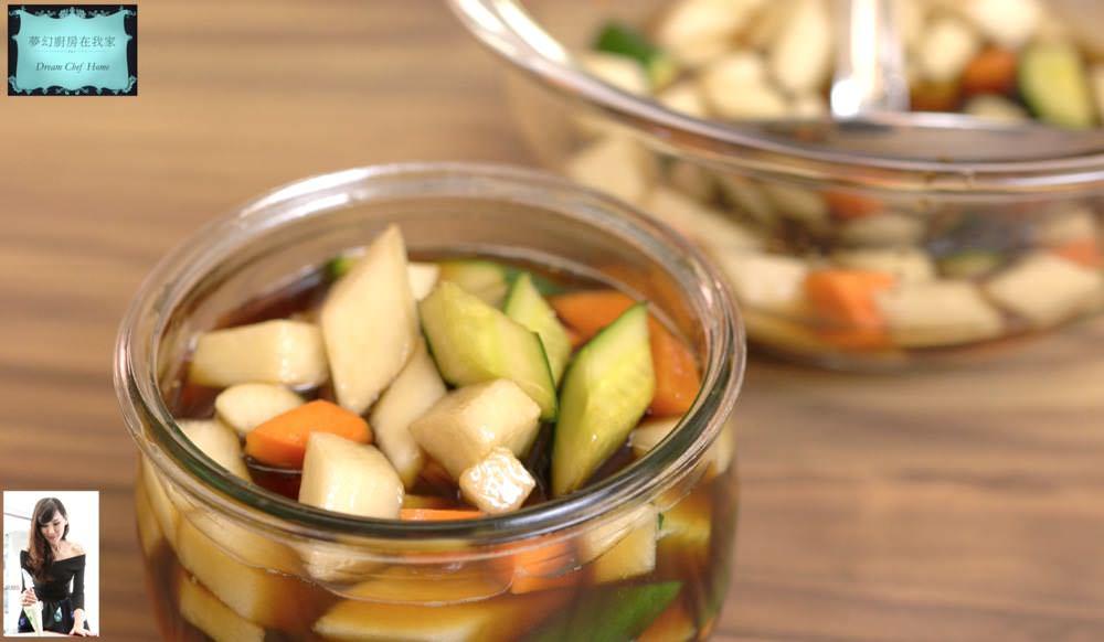 吃了停不下來的冷盤開胃小菜 港式泡菜 廣式泡菜
