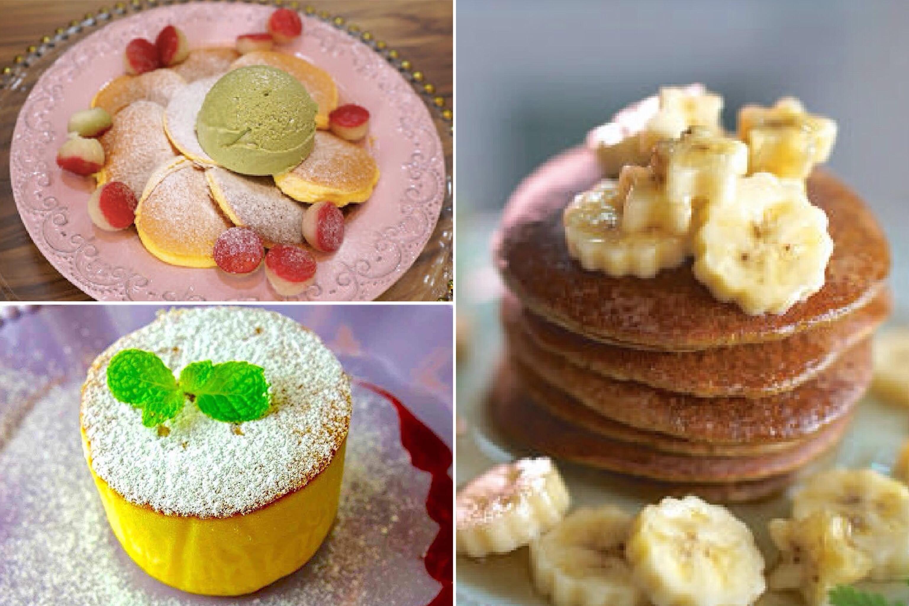 自製香蕉鬆餅、舒芙蕾鬆餅、日式厚鬆餅 5 種鬆餅做法,免泡打粉免烤箱一次教會你!
