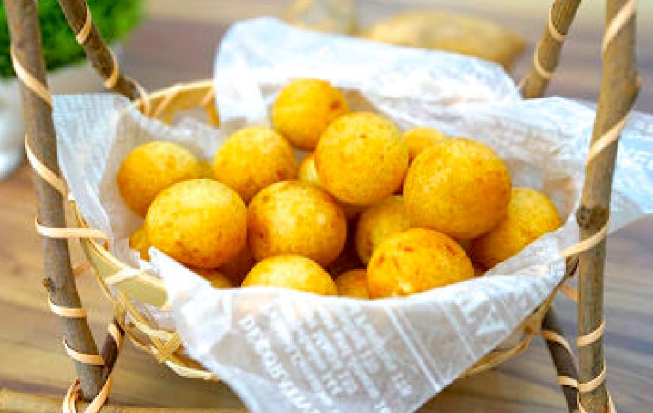 「如何做出金黃酥脆的夜市地瓜球?」掌握Q彈的技巧,在家做比夜市賣得還好吃!