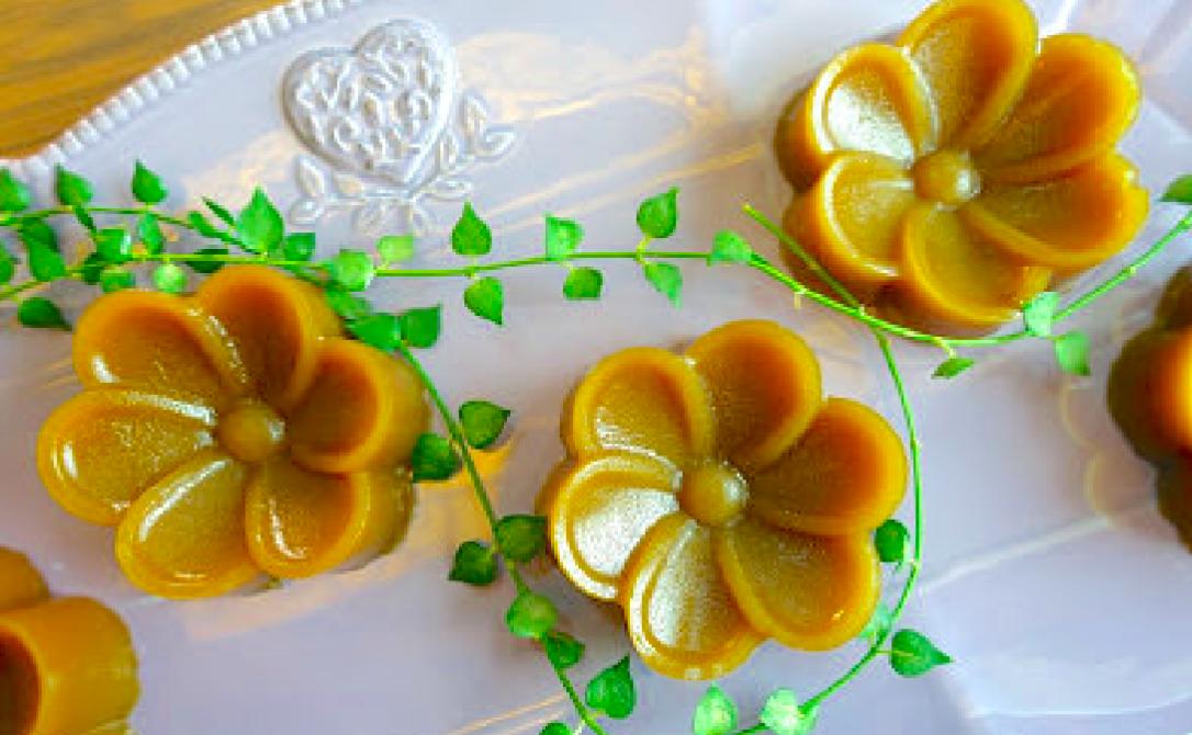 銅板價在家自己做傳統甜年糕,2 包粉搞定一道年菜料理!