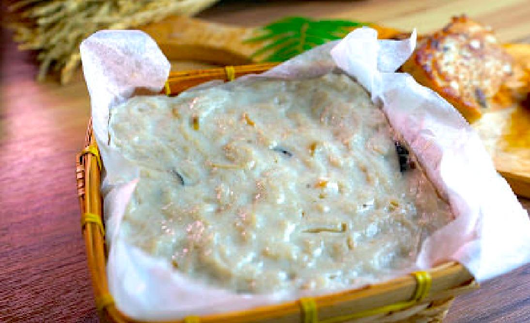 「如何用米磨出古法傳統的蘿蔔糕?」80%都不知道的配方,香氣比一般蘿蔔糕更濃郁!