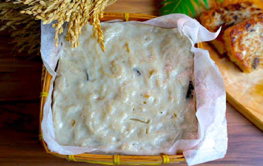「如何掌握好比例用米磨出蘿蔔糕?」2 種手工蘿蔔糕做法,綿密爽口一點也不難!