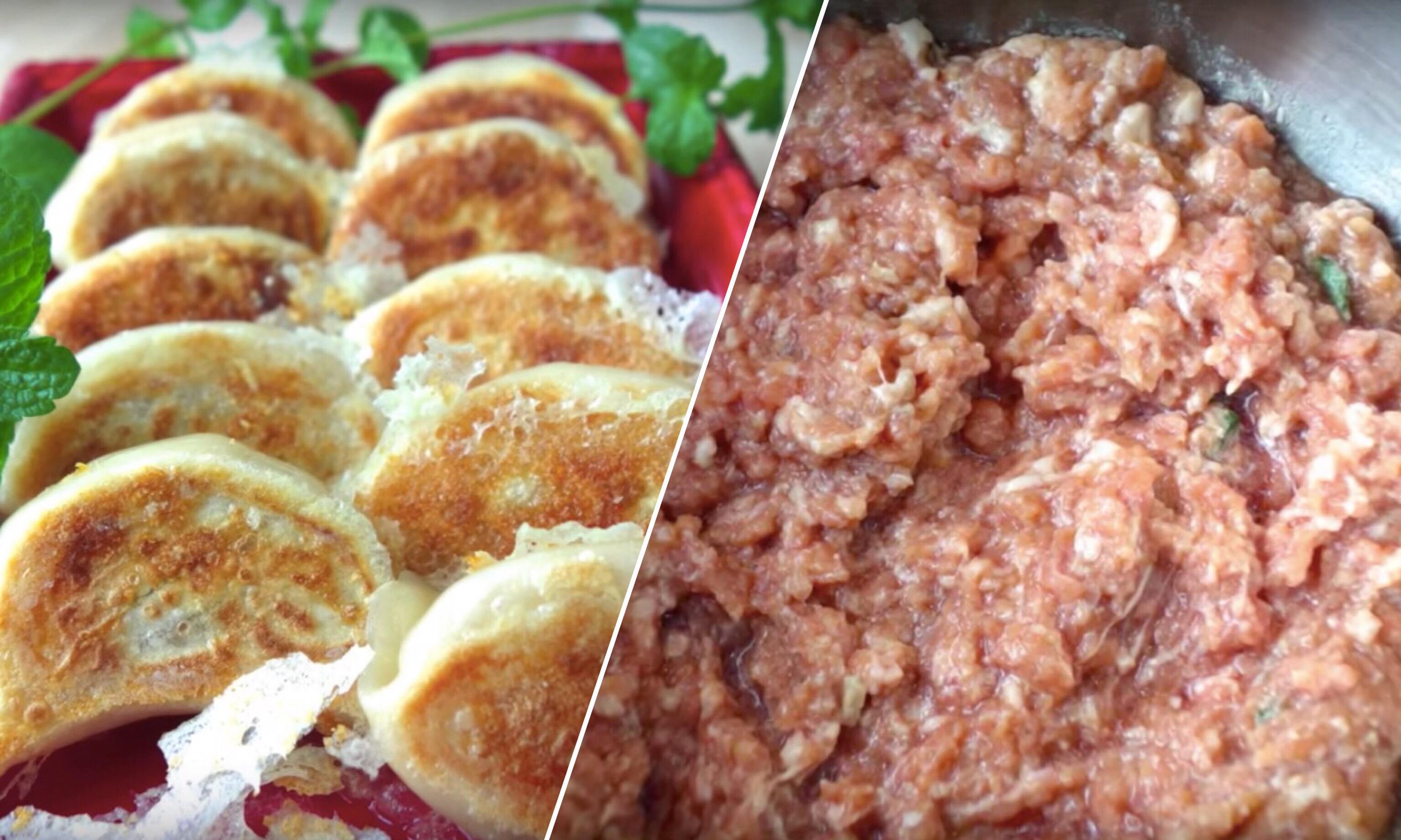 「會爆汁的日式煎餃怎麼做?」其實多汁的秘訣是肉餡的調配!