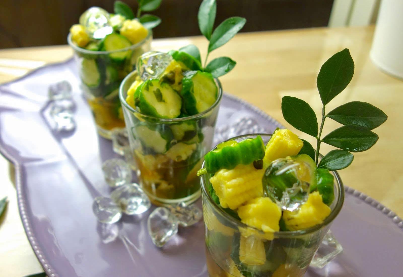 夏天沒胃口?在家自己做「泰式涼拌蔬食」,酸甜清爽又低卡非常開胃!