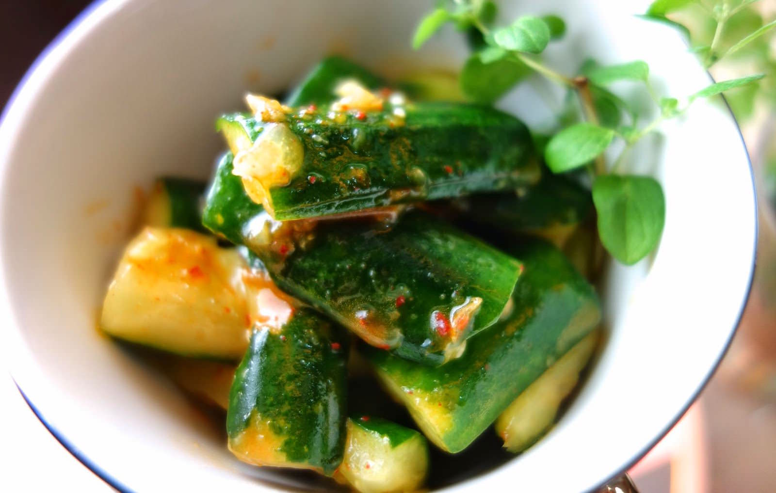 韓式涼拌小黃瓜的爽脆、清爽的小撇步,10 分鐘快速完成一道開胃料理