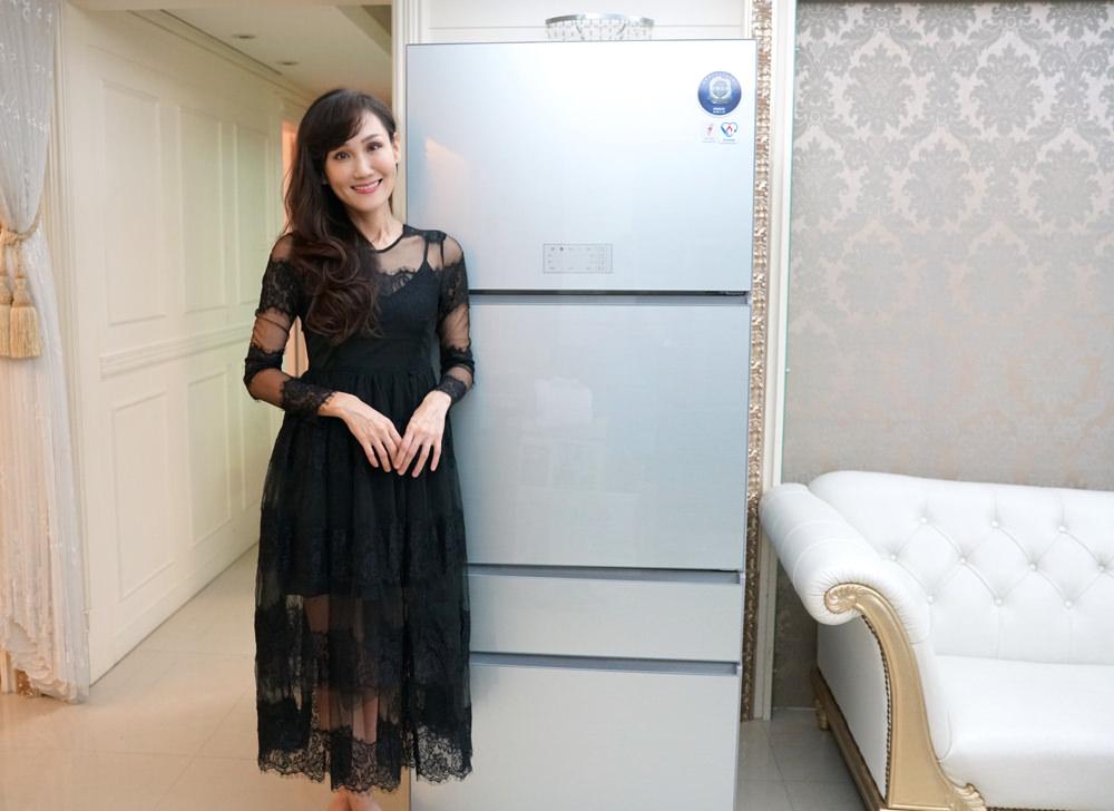 一台讓職業媽媽下班後也能優雅有效率準備晚餐的冰箱!體驗 台灣三洋采晶玻璃變頻電冰箱