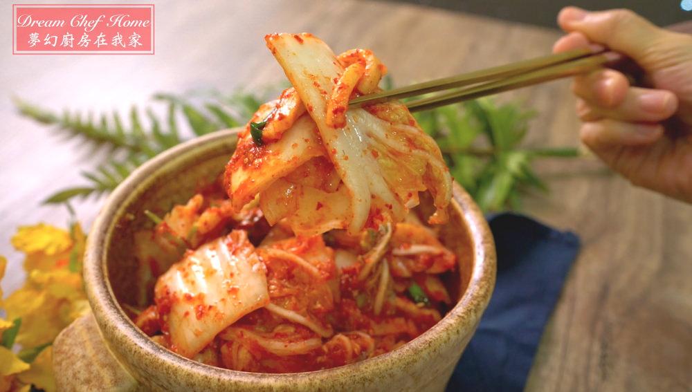 這樣做韓式泡菜真的太簡單啦!連韓國朋友也讚嘆的做法,必學韓國國民美食!即食韓式泡菜