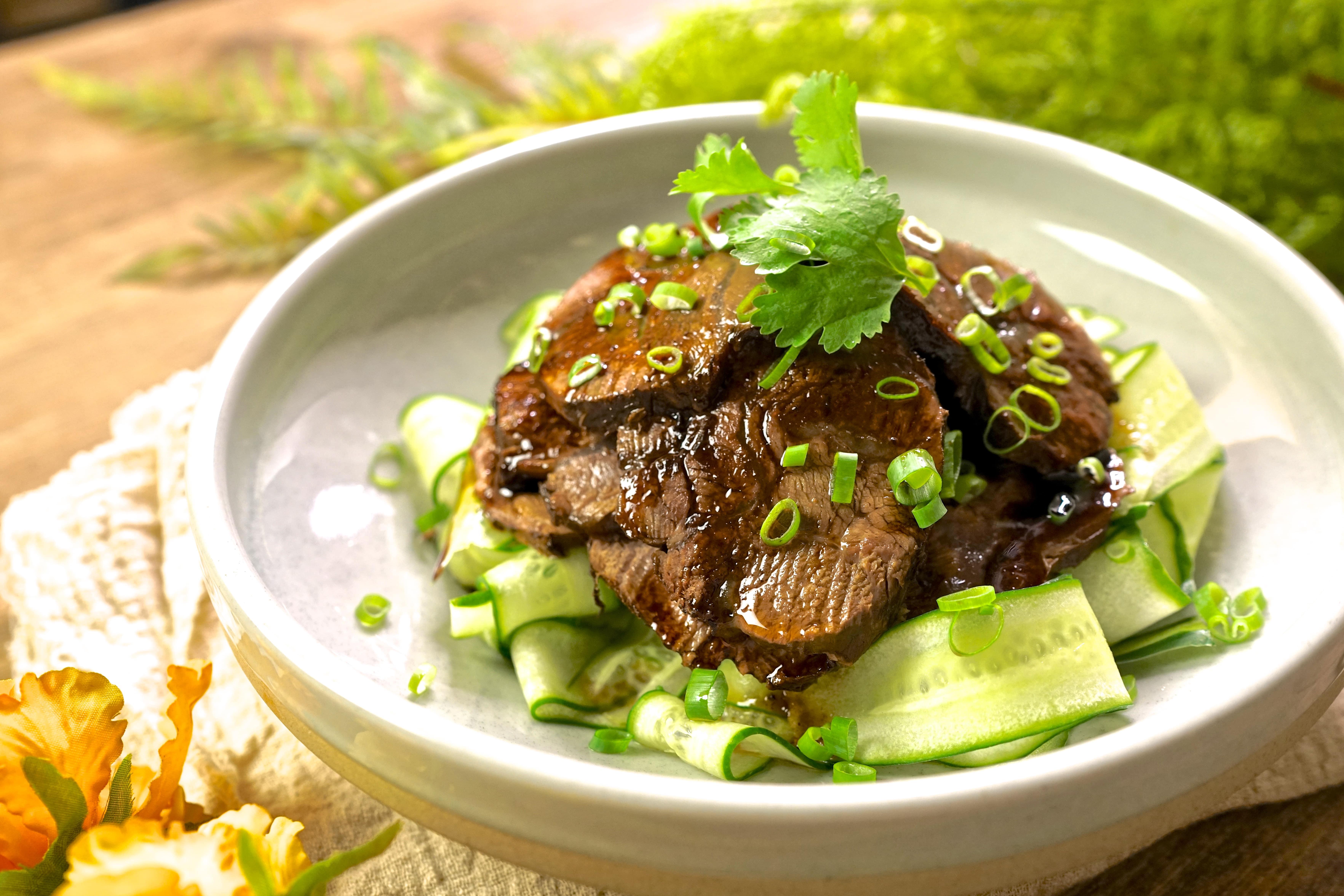 老爸的秘制醬滷牛肉,第一次滷牛腱牛肉就上手