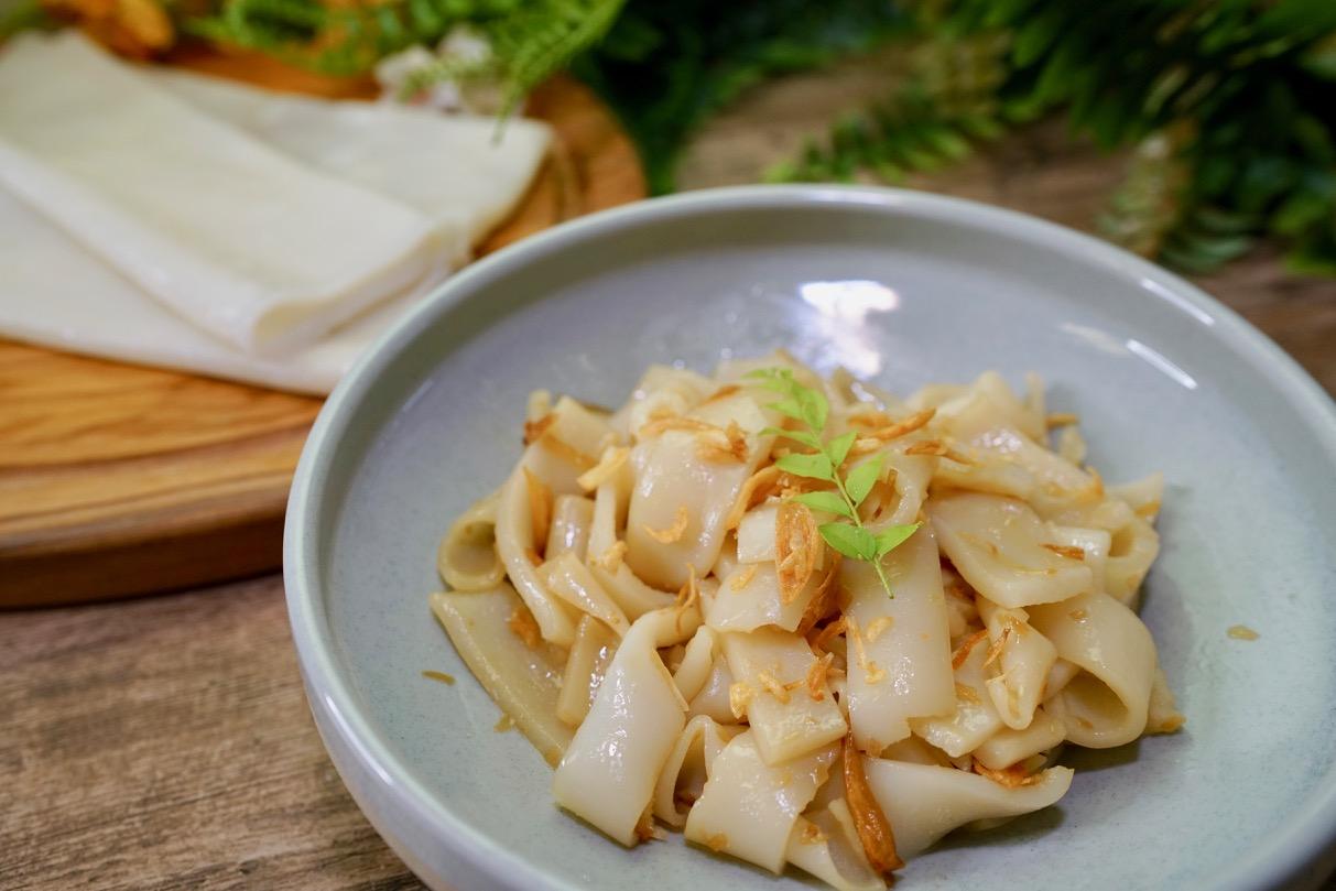 用純米做粄條、河粉、粿仔條超簡單!學會了還能做腸粉,順便學磨米粉