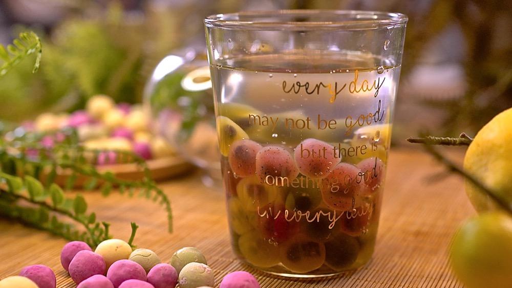 彩色珍珠 包心粉圓,天然蔬果原色最安心!Q彈爽口