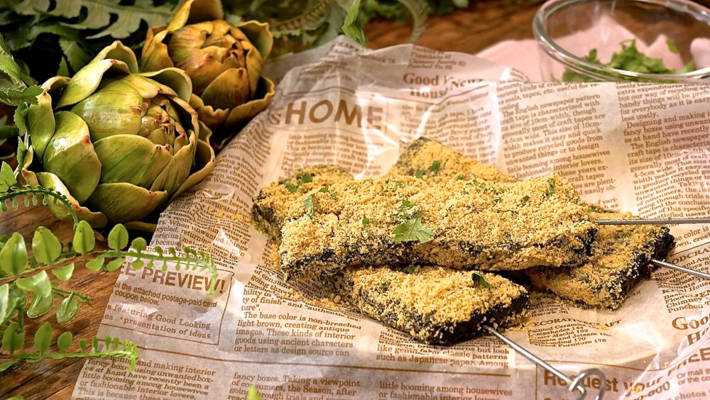 三種材料做豬血糕,簡單易學,素食智慧糕紫菜糕