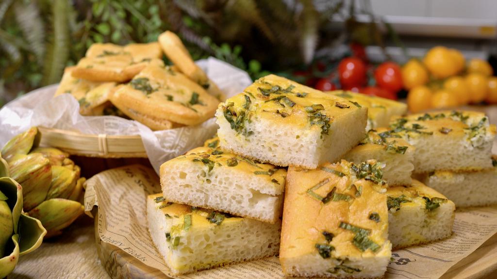 用100%純生米做台式香蔥麵包,無敵鬆軟無麩質超健康