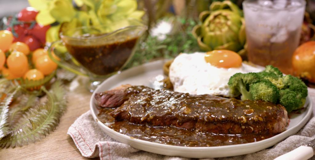 巨好吃簡單黑胡椒醬,夜市鐵板牛排必學醬料!經典醬料!