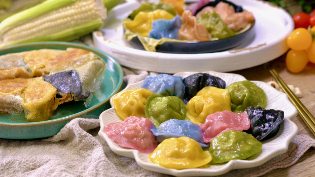 私房爆汁啵啵玉米水餃,用這個做法再也不用怕煮破啦!