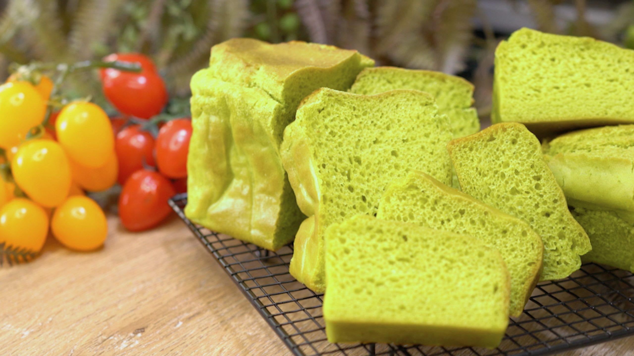 鬆軟能量精力米麵包,100%無麩質,養生不發胖