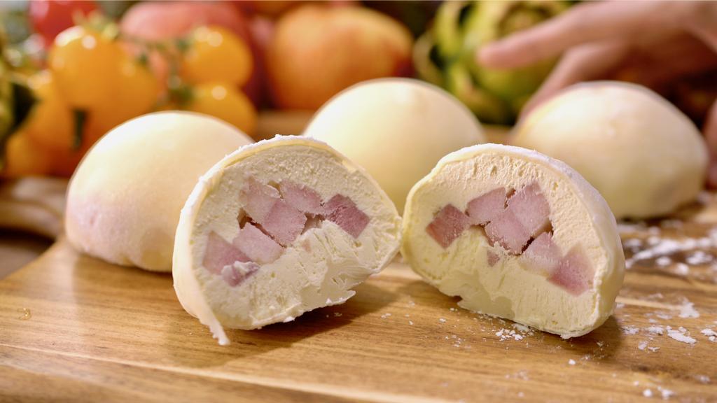 軟糯香甜雪媚(莓)娘,冷凍後就是麻糬冰淇淋,軟Q口感比麻糬更好吃!