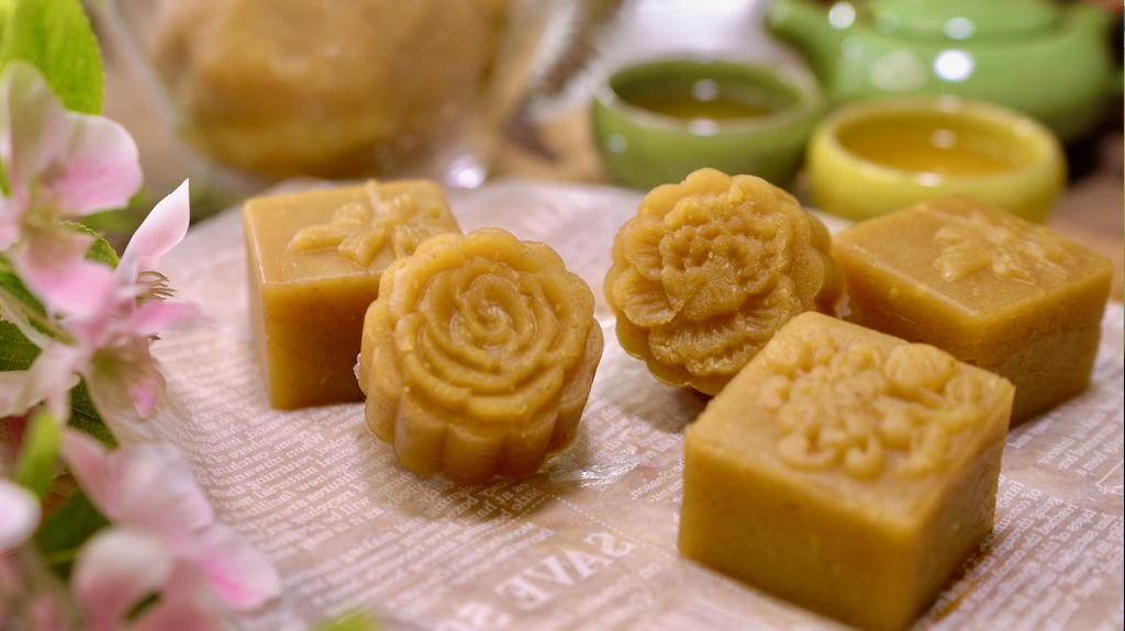 細膩潤滑的經典蓮蓉餡,必學萬用甜點餡料!