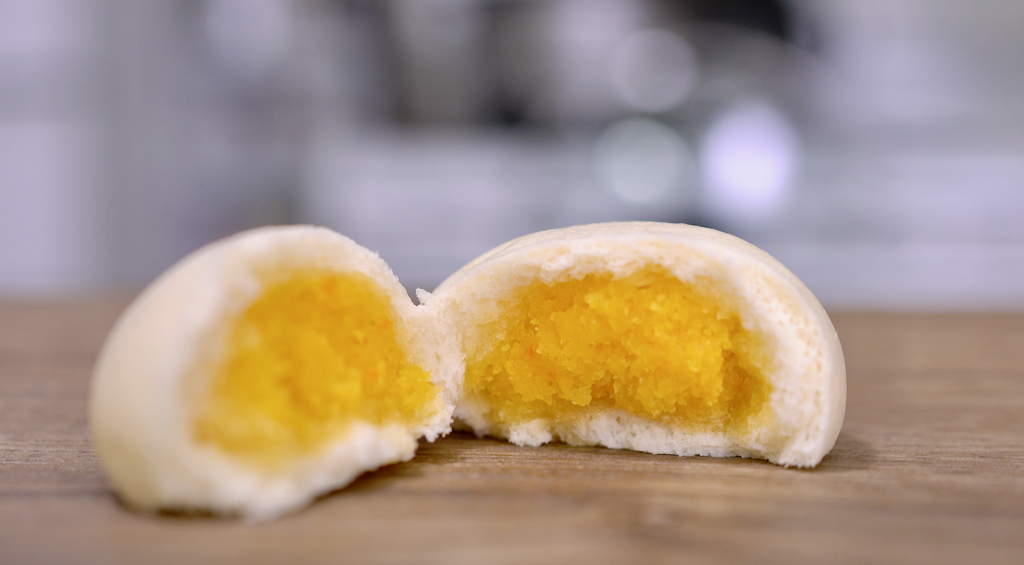 香濃奶黃包這樣做超簡單,濃郁爆漿的奶黃餡,必學中式小點!
