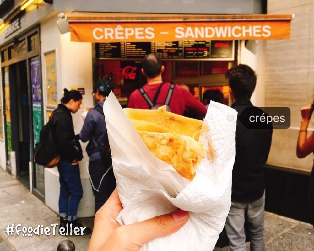 法國|巴黎可麗餅|聖母院平價法式可麗餅推薦 Crêperie Genia 老闆給料不手軟!