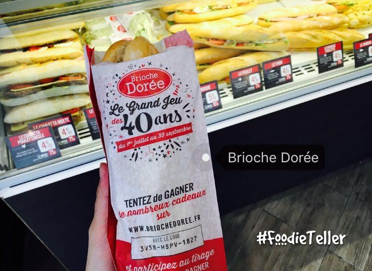 法國|巴黎美食|Brioche Dorée。法國版85度C,平價法式麵包、三明治、甜點咖啡店
