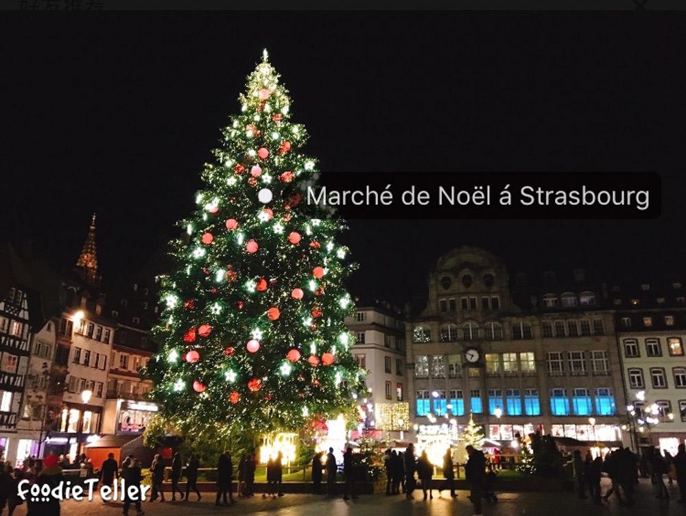 法國|史特拉斯堡自由行|百年歷史的史特拉斯堡聖誕市集!跟台北101的差很多啊!