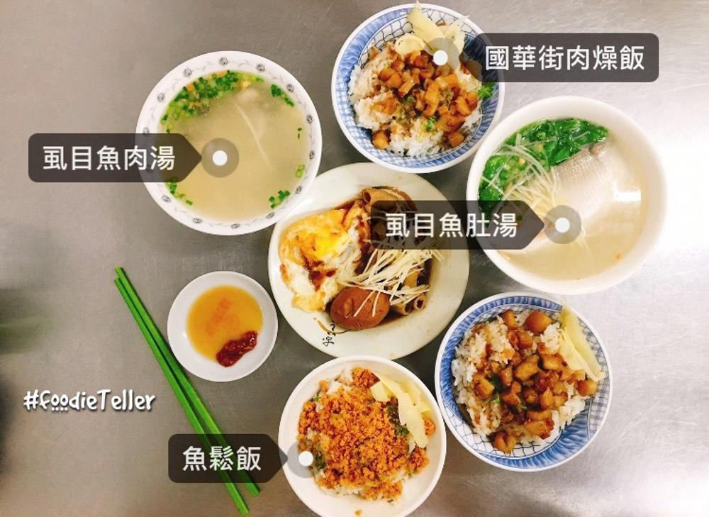台南|國華街美食|國華街肉燥飯 沒吃到不甘心的肉燥飯配虱目魚肚湯!