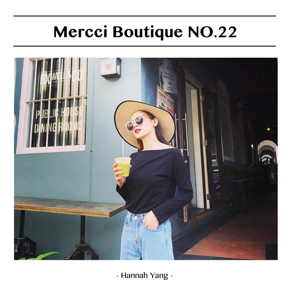 Mercci Boutique NO.22  熱情的新加坡