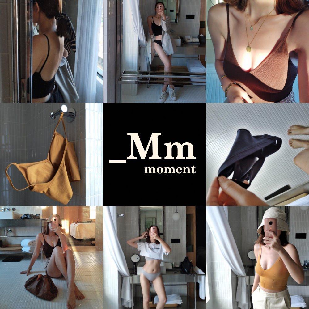_Mm 居家內著 | 無縫美背V型BraTop、無縫集中內衣
