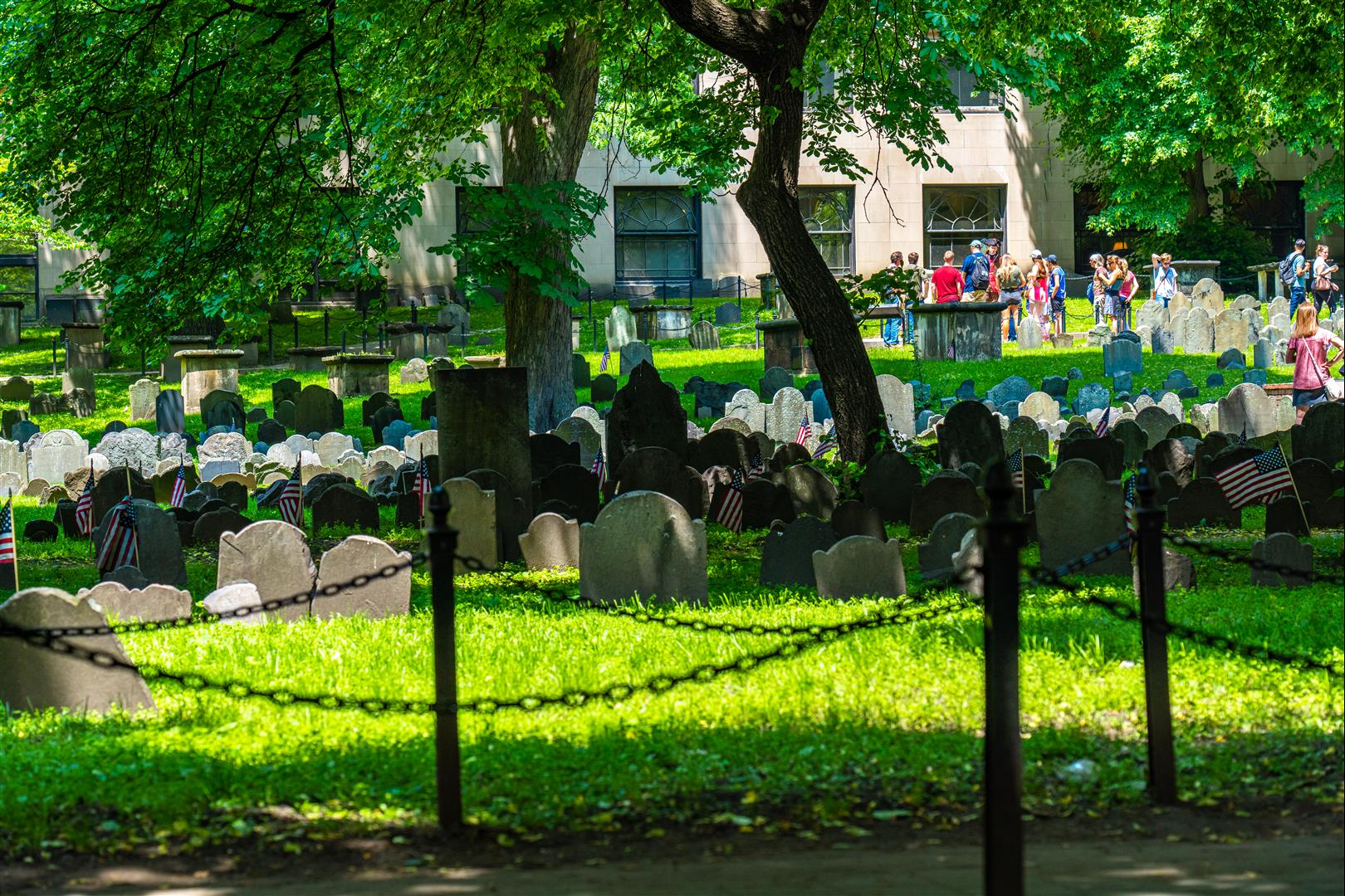 穀倉墓地 (Granary Burying Ground)