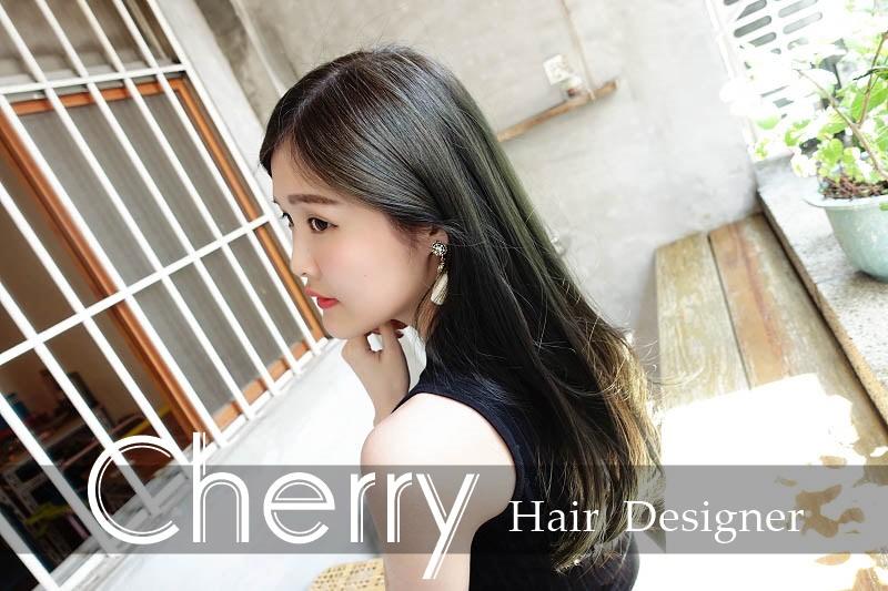 【髮型設計】設計師Cherry – 質感OLAPLEX 護髮 深綠灰質感染髮 不傷髮質染髮超推薦 GENIC