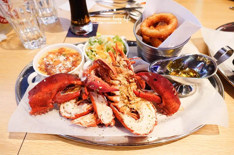 【台北中山】Wayne's Boston 波士頓美式龍蝦牛排餐酒館 – 超新鮮活波士頓龍蝦 巨大20盎司肋眼牛排!