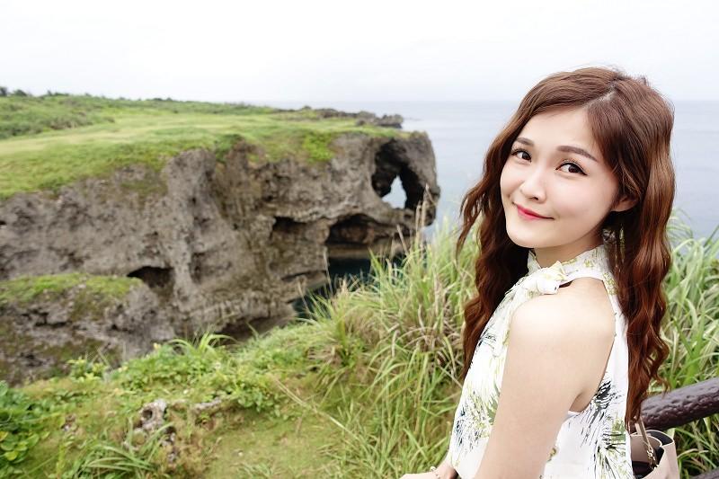 【沖繩景點】萬坐毛 – 北部沿海 海天一線 大象鼻天然奇景