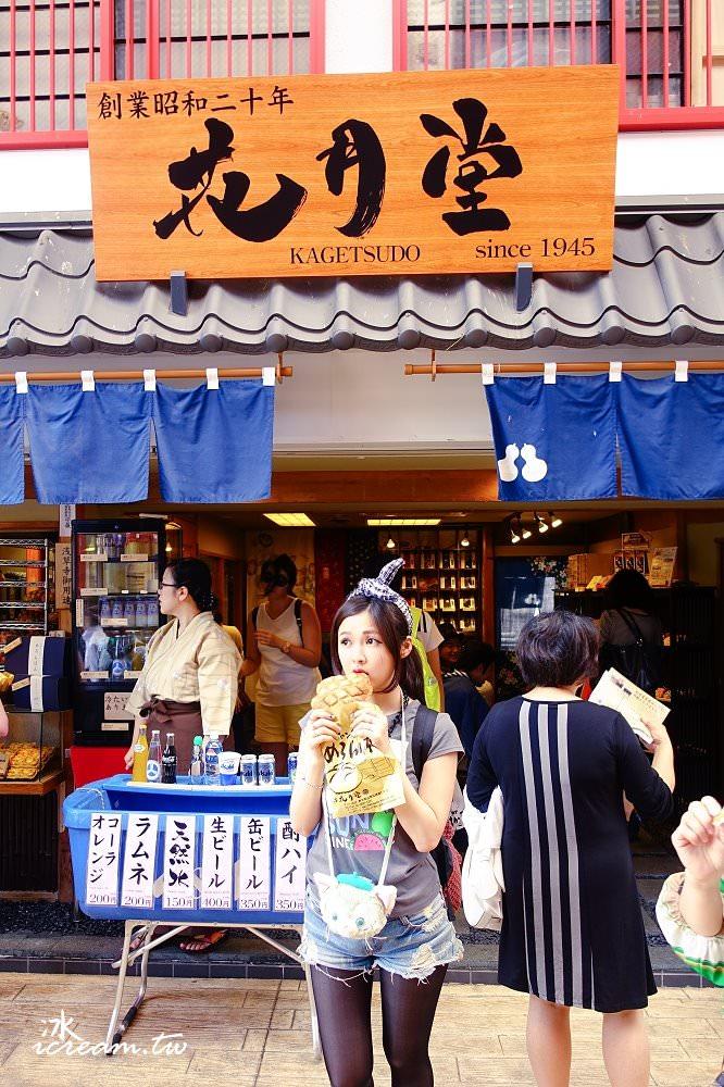 【日本東京】花月堂 大波羅麵包 – 淺草寺 雷門 必吃美食小吃