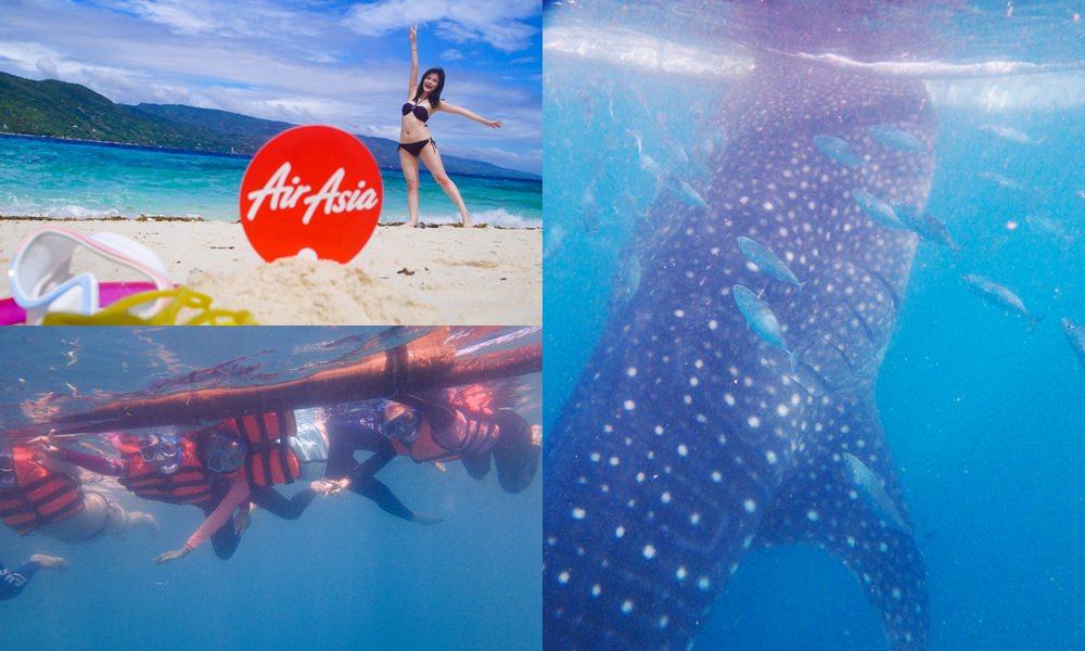 菲律賓宿霧歐斯陸Oslob看鯨鯊 Sumilon蘇米龍跳島浮潛