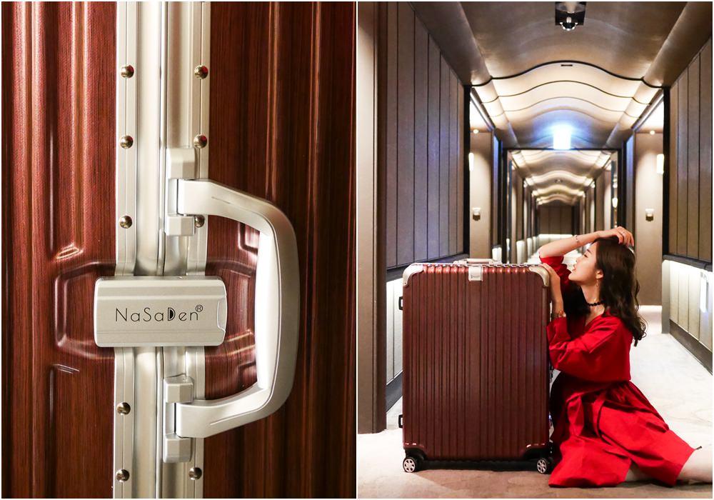 平價奢華 NaSaDen鋁框 林德霍夫 31吋超好推行李箱大推薦(超划算開團中)