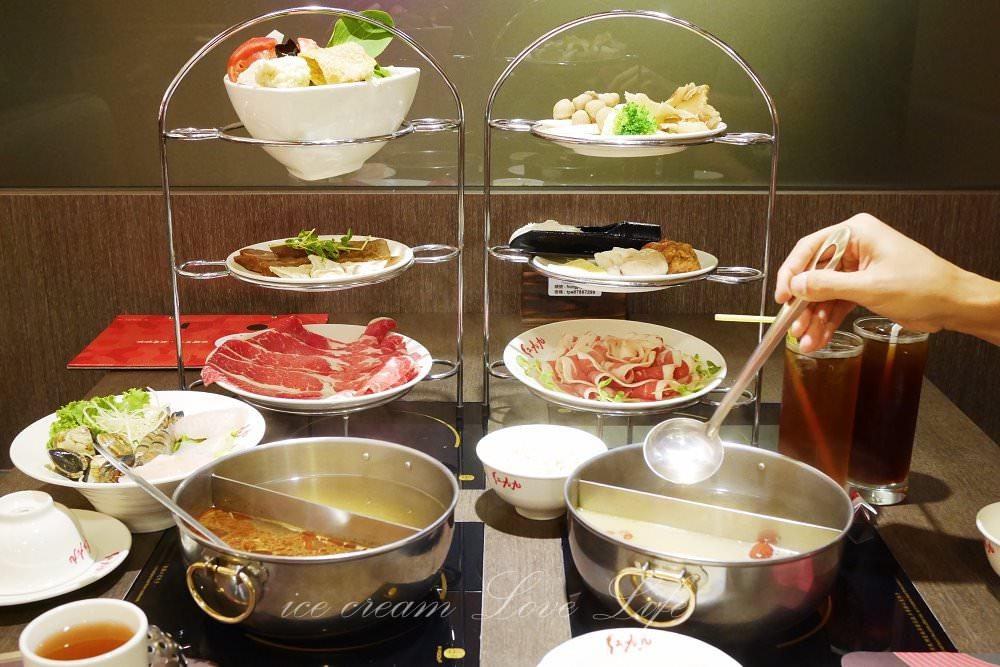 【台北美食】信義區-紅九九個人鴛鴦鍋市府店,一個人也可以吃麻辣火鍋!