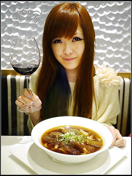 【台北東區】天下三絕 – 超值奢華時尚紅酒牛肉麵套餐  小菜都好好吃喔!