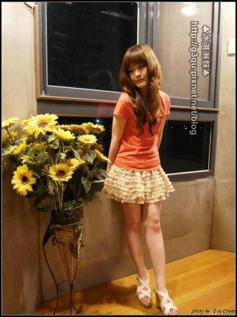 【口碑卷34】LISA.LISA 俏麗甜美風日系可愛多層雪紡蛋糕短裙