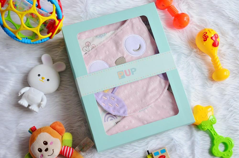 安撫巾推薦_奇哥 寶寶的第一個朋友│PUP豆趣毯+安撫巾禮盒,觸發寶寶感官能力、四季皆可使用。
