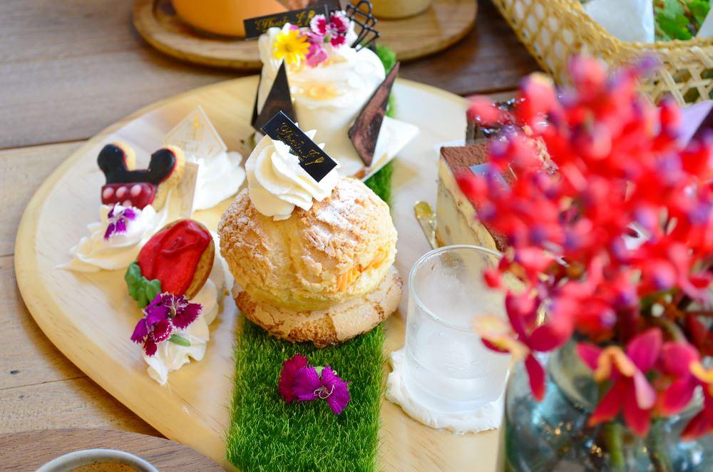 台中下午茶_Thaï.J ︳在花團錦簇的泰式餐廳也能品嚐豪華下午茶~