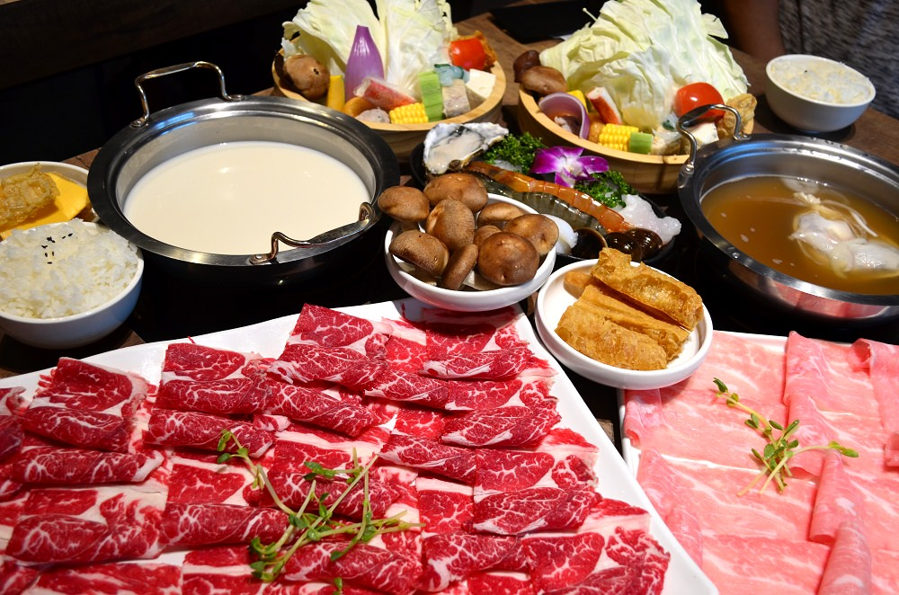 北斗美食_對馬涮涮屋│北斗新開幕火鍋,口味不錯,肉多、菜多、多了一個聚餐好選擇。