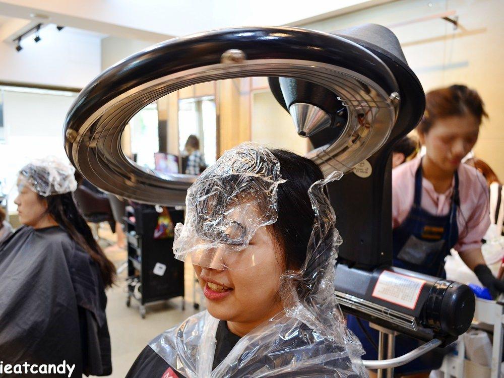 燙髮前加熱軟化髮質-台中燙染髮推薦