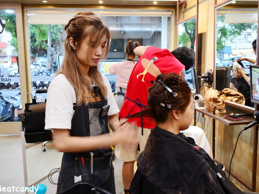 染後護髮過程-台中燙染髮推薦