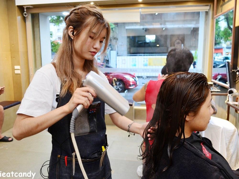 染後蒸氣護髮-台中燙染髮推薦
