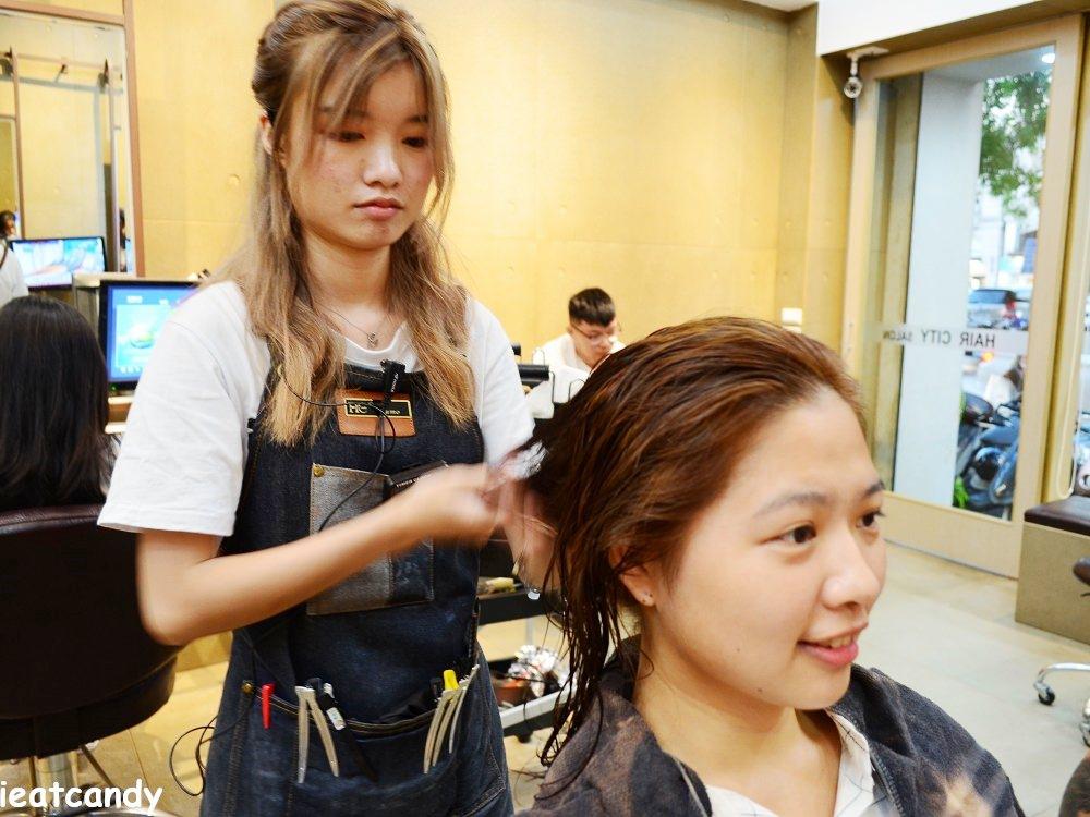 燙染後吹髮-HairCity台中燙染髮推薦