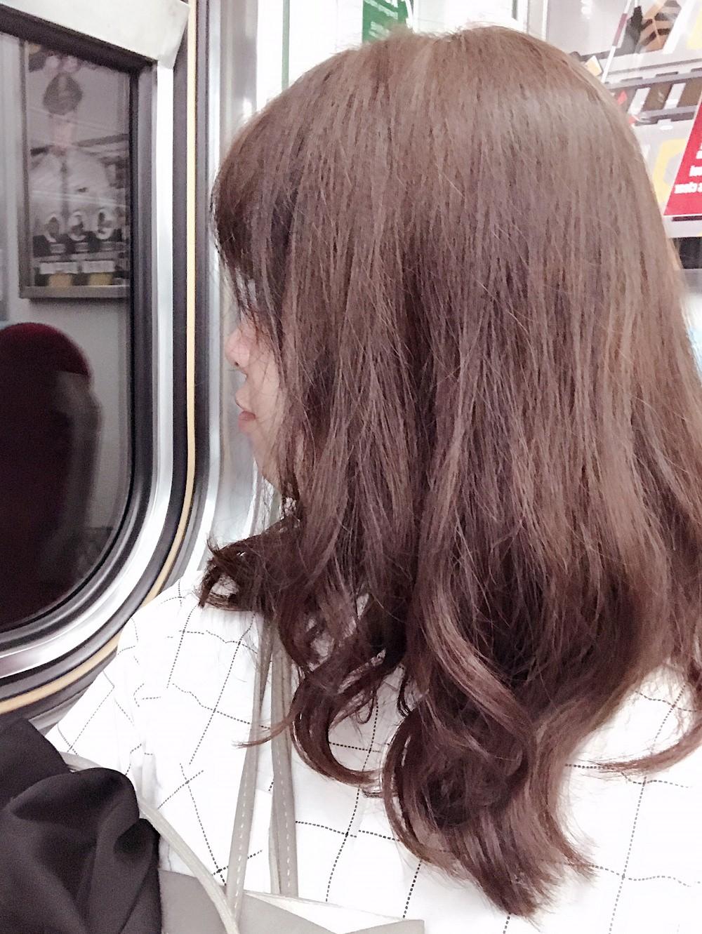 冷萃咖啡髮色-台中燙染髮推薦
